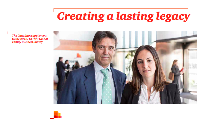 PWC - Creating a Lasting Legacy