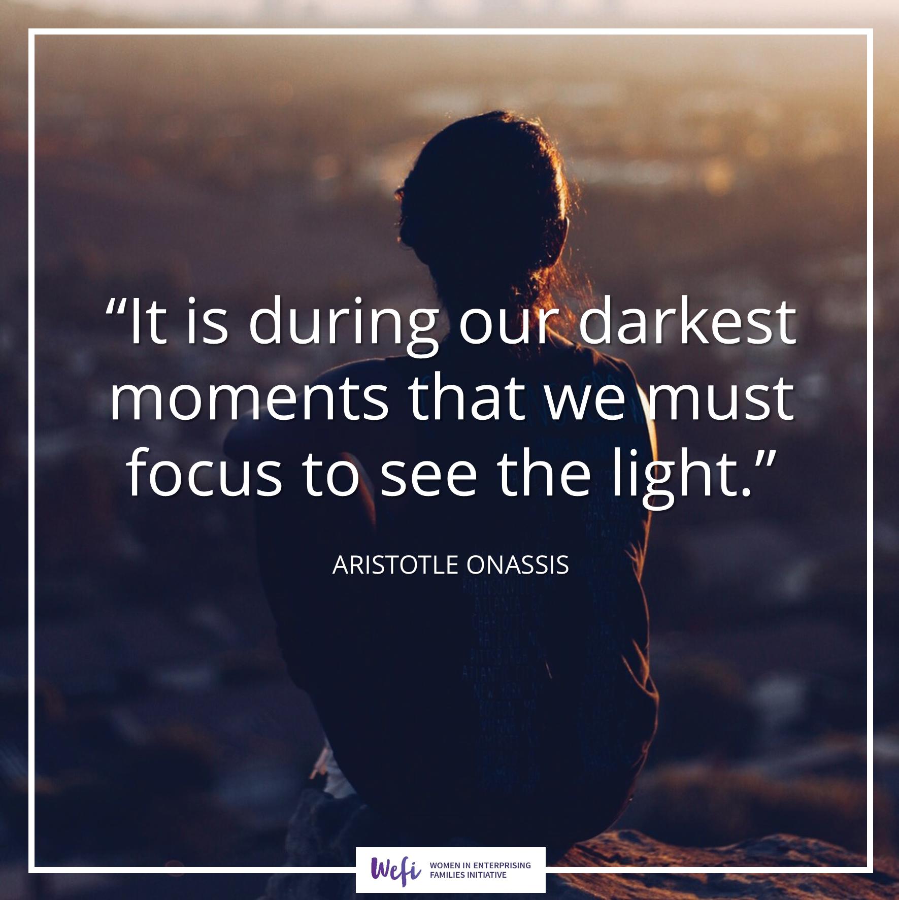 darkest moments